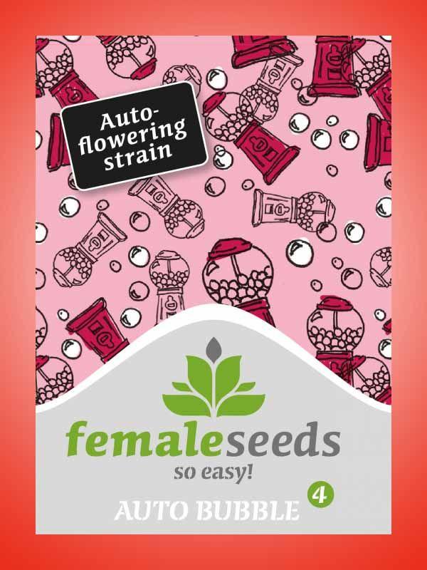 Auto Bubble Female Seeds Opakowanie