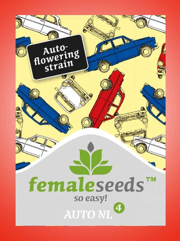 Auto NL Female Seeds Opakowanie