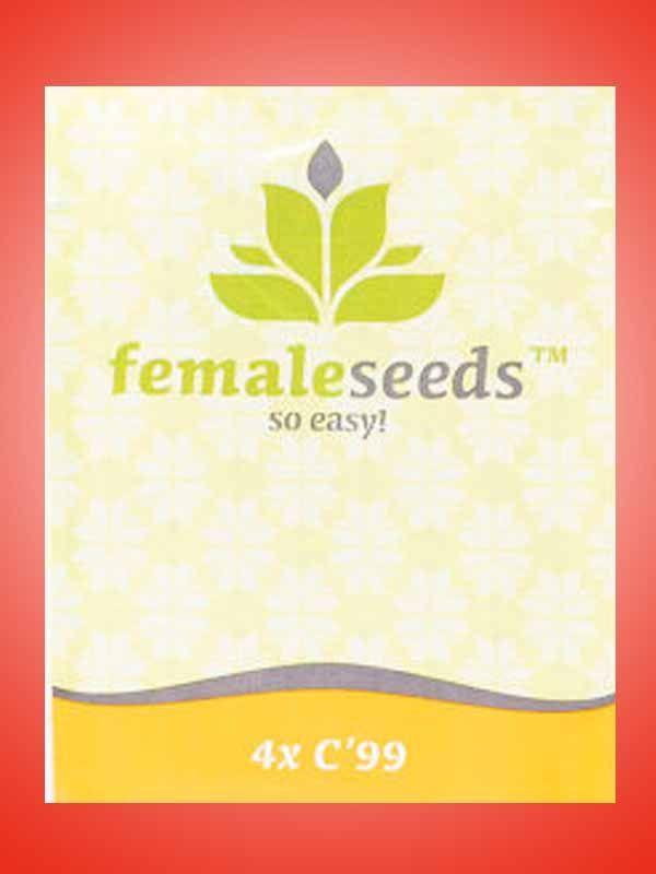 C99 Female Seeds Opakowanie