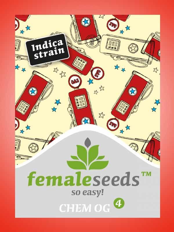 Chem OG Female Seeds Opakowanie