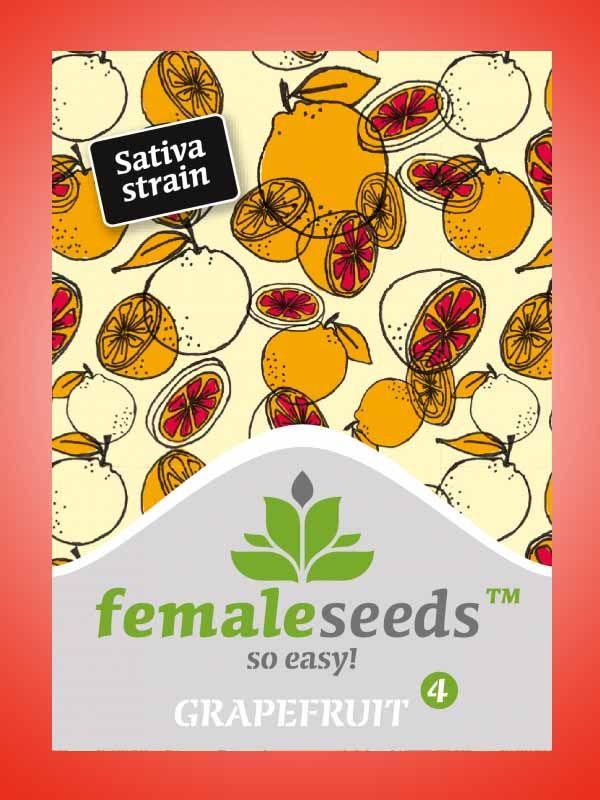 Grapefruit Female Seeds Opakowanie