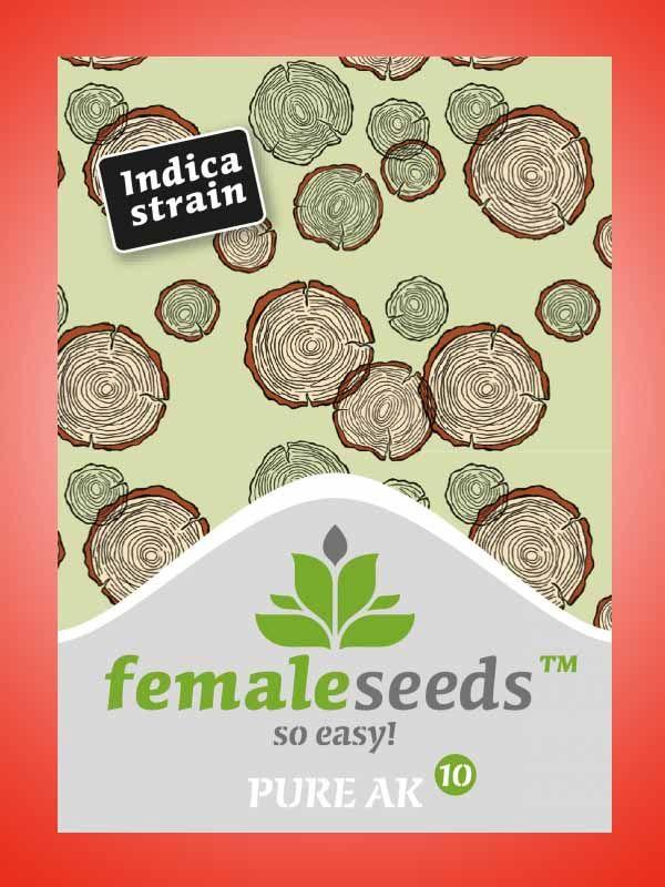 Pure AK Female Seeds Opakowanie