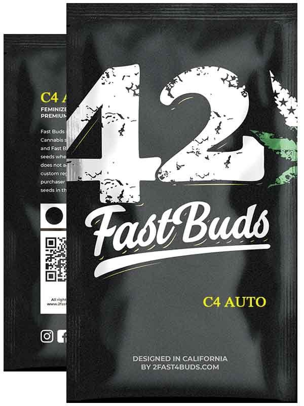 C4 Auto Fast Buds opakowanie