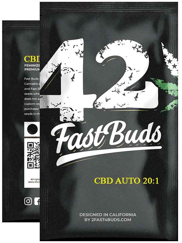 CBD Auto 20 1 Fast Buds Opakowanie