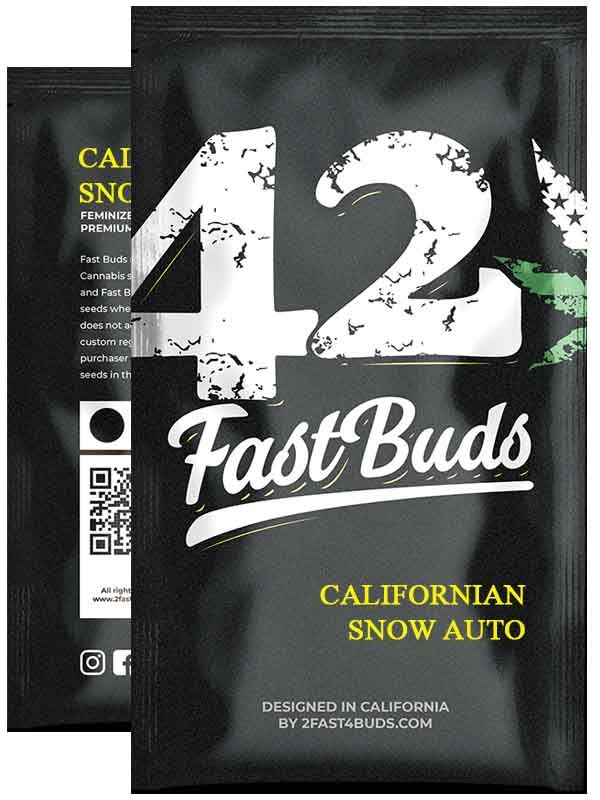 Californian Snow Auto Fast Buds Opakowanie