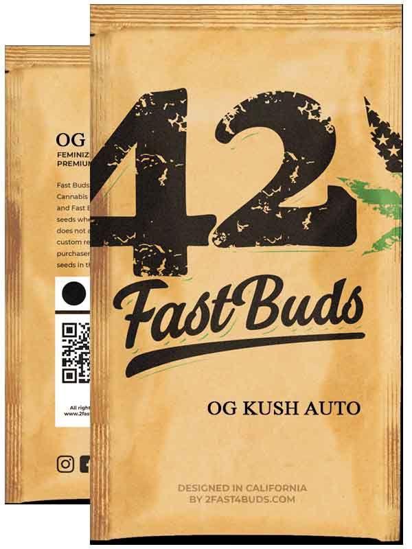 OG Kush Auto Fast Buds Opakowanie
