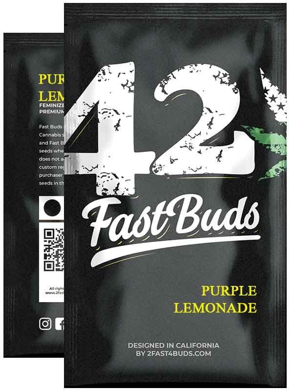 Purple Lemonade Fast Buds Opakowanie
