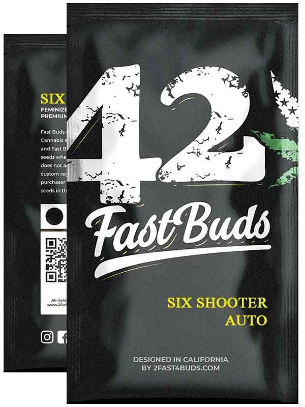 Six Shooter Auto Fast Buds Opakowanie