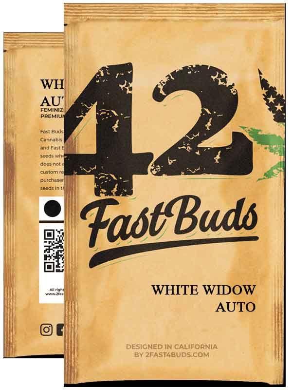 White Widow Auto Fast Buds Opakowanie