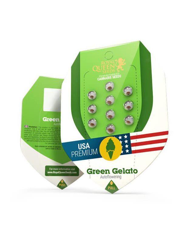 Green Gelato Auto opakowanie