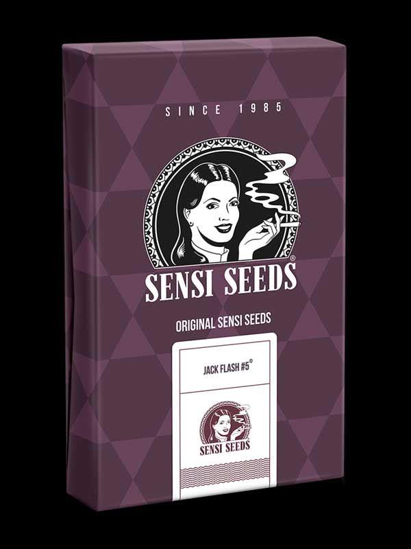Jack Flash #5 Sensi Seeds Opakowanie