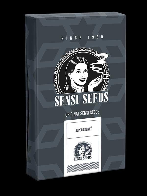 Super Skunk Automatic Sensi Seeds Opakowanie