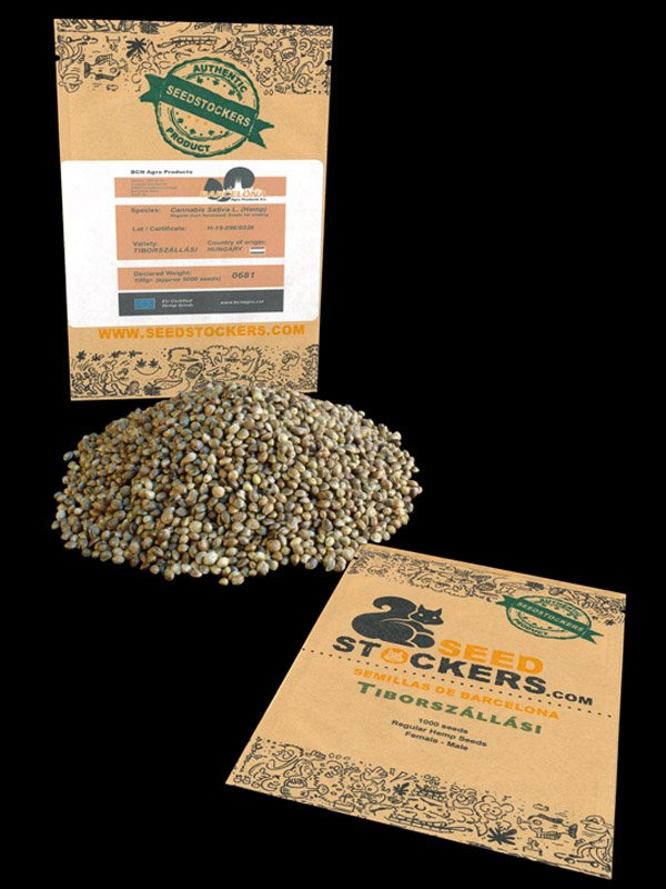 nasiona konopi certyfikowane -tiborszalasi Seed Stockers