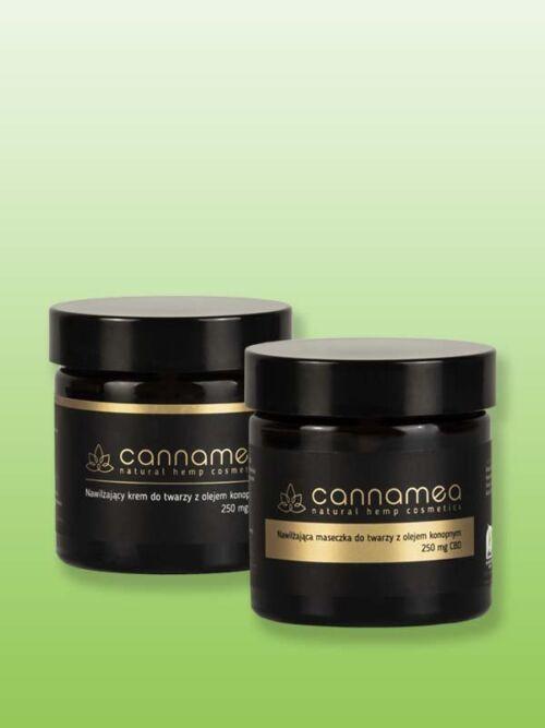 zestaw kosmetyków CBD - Cannamea