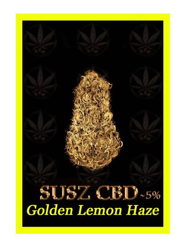 etykieta golden lemon haze susz CBD