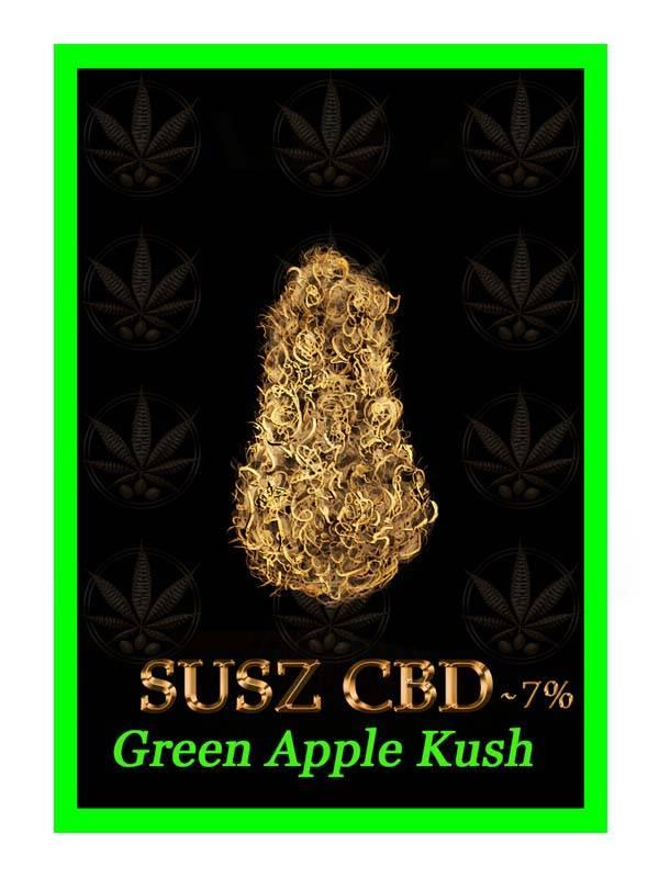 etykieta green apple kush susz cbd